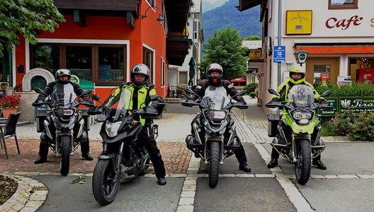 Motorradurlaub in Waidring