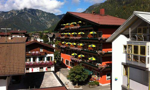 Hotel Tiroler Adler im Sommer