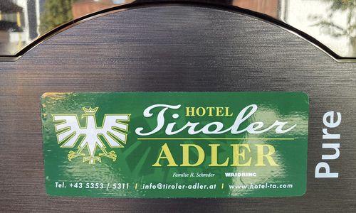 E-Ladestation im Hotel Tiroler ADLER
