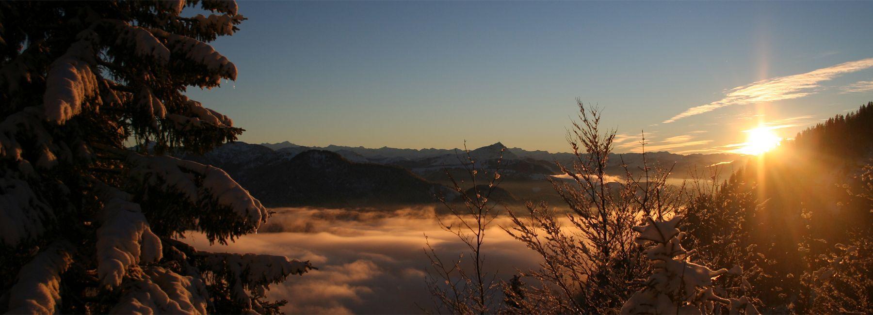 Kitzbühler Alpen im Winter