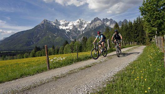 Radfahren im Pillerseetal