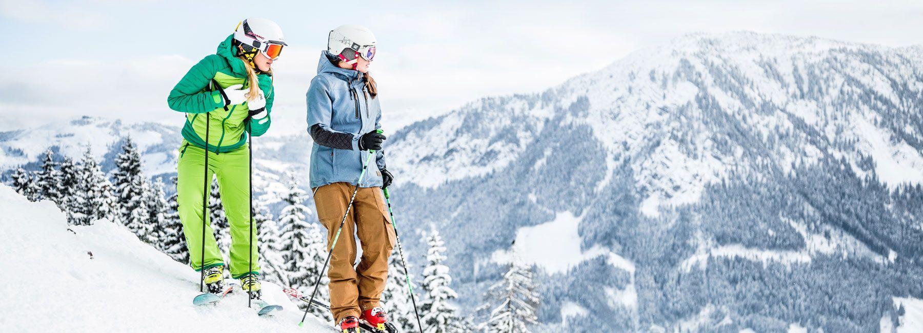 Skifahren im Bixental