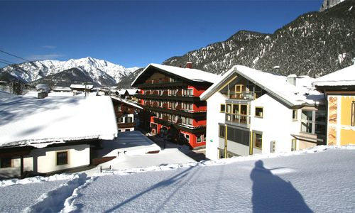 Hotel Tiroler Adler im Winter